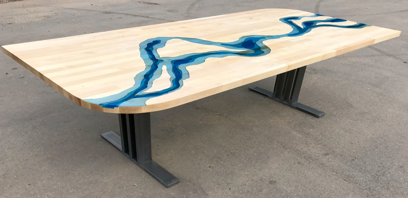 bespoke river tables