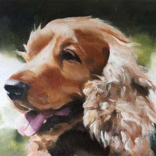 Animal Oil Portraits