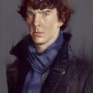 Professional Digital Portrait Painting
