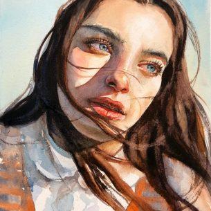 Watercolor portraits & more
