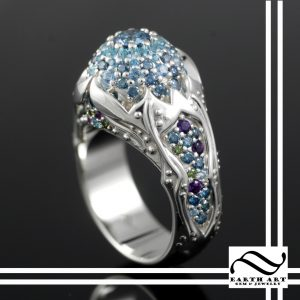 Ornate Opal Ring
