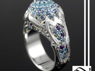 Ornate Opal Ring