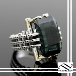 Steampunk Tourmaline Ring
