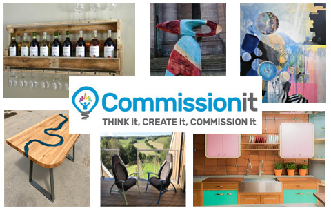 Bespoke commissions – Art and Furniture – accessible to all