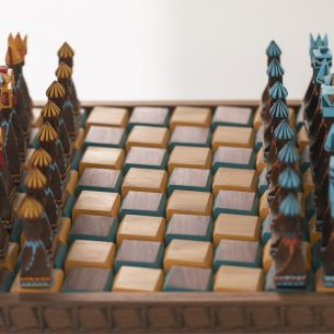 Whirling Dervishes Chess Set