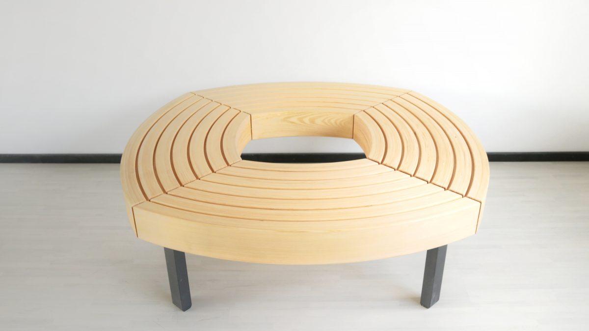 bespoke round bench