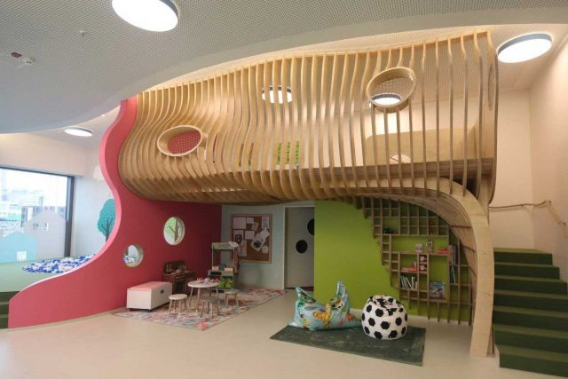This is a children's School offering an open contemporary Parametric CNC Solution