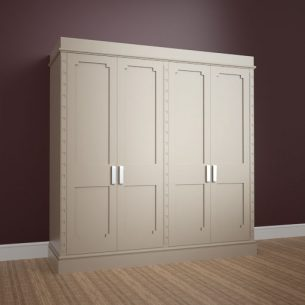 Bespoke CNC Made MDF Wardrobe