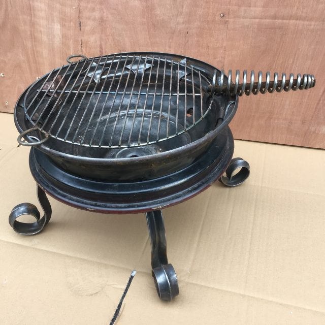 Upcycled barbeque