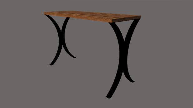 Bespoke side table sorted during Covid-19