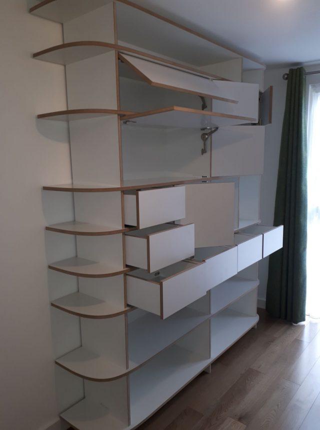 Designer living room cabinet