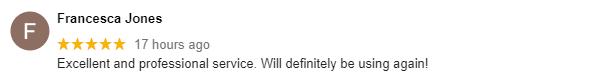 Clients Google Review