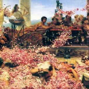 Alma-Tadema, Sir Lawrence: The Roses of Heliogabalus Oil Painting Reproductions
