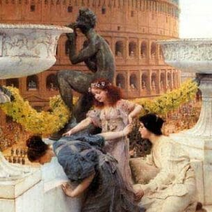 Alma-Tadema, Sir Lawrence: The Colosseum Oil Painting Reproductions