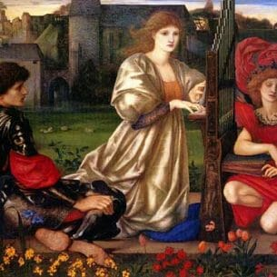 Burne-Jones, Sir Edward Coley(UK): Song of Love