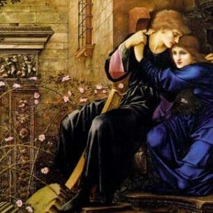 Burne-Jones, Sir Edward Coley(UK): Love Among the Ruins