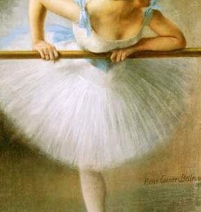 Carrier-Belleuse, Pierre(France): The Ballerina Oil Painting Reproductions