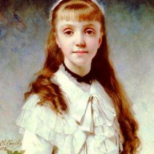 Chaplin, Charles(France): Daughter of the Painter Oil Painting Reproductions