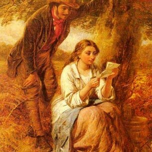 Cobbett, Edward John(USA): Happy Moments Oil Painting Reproductions