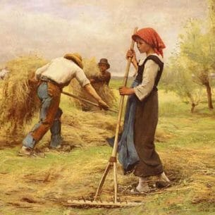 Dupre, Julien(France): The Harvesting of the Hay
