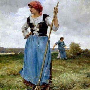 Dupre, Julien(France): Rest Oil Painting Reproductions