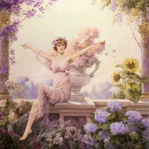 Abbema Louise: Flora