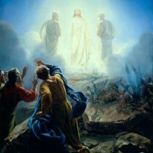 Bloch, Carl Heinrich(Danmark): The Transfiguration Oil Painting Reproductions