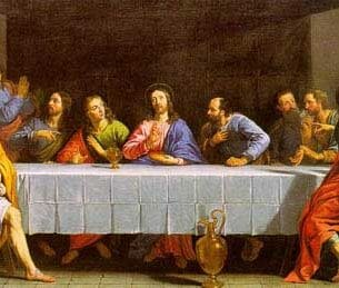 Champaigne, Philippe de(France): The Last Supper Oil Painting Reproductions