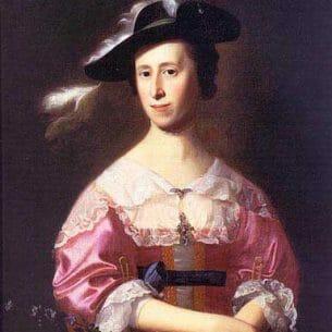 Copley, John Singleton(USA): Mrs. Samuel Quincy (Hannah Hill) Oil Painting Reproductions