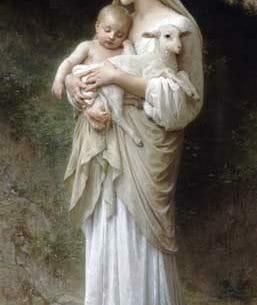 Bouguereau, William(France): Innocence Oil Painting Reproductions