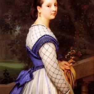 Bouguereau, William(France): The Countess de Montholon Oil Painting Reproductions