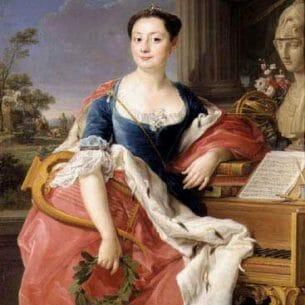 BATONI, Pompeo: Portrait of Princess Giacinta Orsini Buoncampagni Ludovisi Oil Painting Reproductions