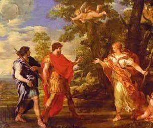 Cortona, Pietro da: Venus as Huntress Appears to Aenus Oil Painting Reproductions