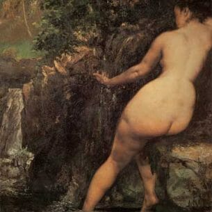 Courbet, Gustave(France): The Source Oil Painting Reproductions