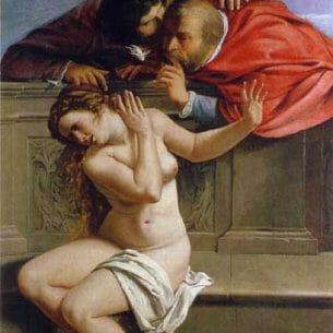 Artemisia Gentileschi – Susanna and the Elders