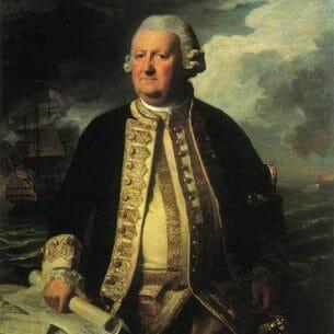 Copley, John Singleton(USA) – Clark Gayton, Admiral of the White Oil Painting Reproductions
