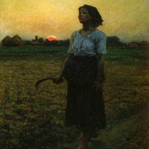 Breton, Jules – The Song of the Lark Oil Painting Reproductions