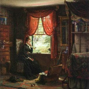 Edward Lamson Henry – Memories Oil Painting Reproductions