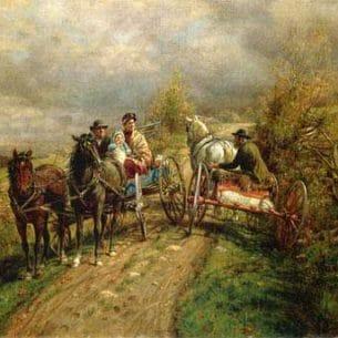 Edward Lamson Henry – The Latest Village Scandal