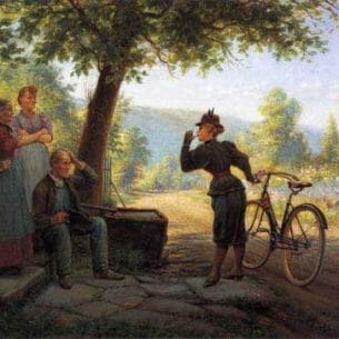 Edward Lamson Henry – The New Woman Oil Painting Reproductions