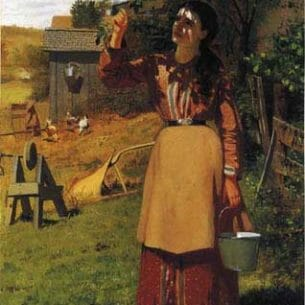 Brown, John George – The Cherry Picker Oil Painting Reproductions