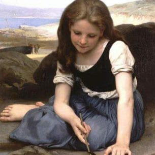 Bouguereau, William – Crab Oil Painting Reproductions