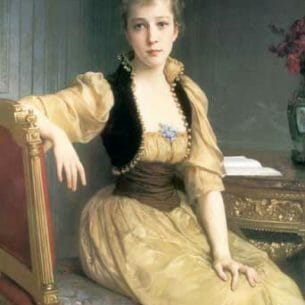 Bouguereau, William – Lady Maxwell Oil Painting Reproductions