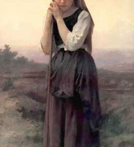 Bouguereau, William – Little Shepherdess Oil Painting Reproductions