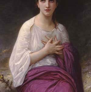 Bouguereau, William – Psyche Oil Painting Reproductions