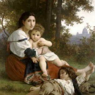 Bouguereau, William – Rest Oil Painting Reproductions