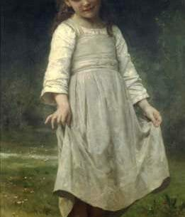 Bouguereau, William – The Curtsey Oil Painting Reproductions