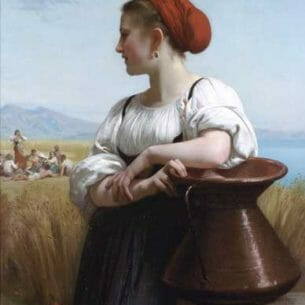 Bouguereau, William – The Harvester Oil Painting Reproductions
