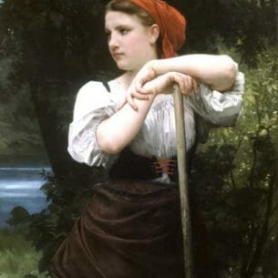 Bouguereau, William – The Haymaker Oil Painting Reproductions