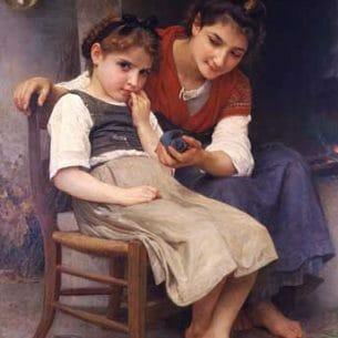 Bouguereau, William – The little sulk